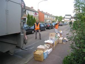 Oud Papier in Westlaren (week na Pinksteren)