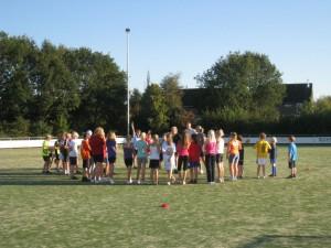 Training schoolkorfbal